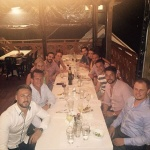 Alpha Gamma Solutions attend exclusive dinner