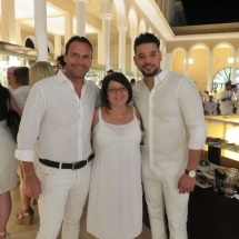 Alpha Gamma Solutions enjoy white party